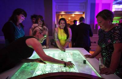 LED casino table