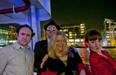 The winning team at at Creative Events Murder Mystery Show