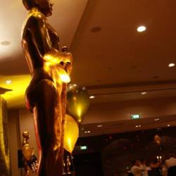 Large scale Oscars trophy , organised by Creative Events