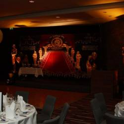 MGM logo on a black backdrop , organised by Creative Events