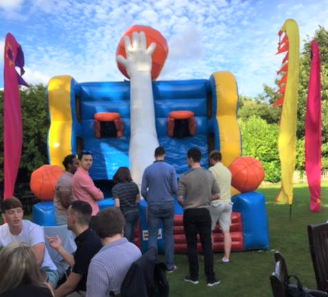 guest play Basketball at Creative Events Company Summer Party