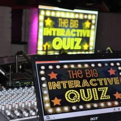 Creative Events Big Interactive Quiz sign