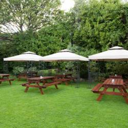 The Sandymount Hotel outdoor area, perfect for a Creative Events Corporate Summer BBQ
