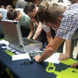 Mobile Escape Room and Detonator Coporate Team Building event