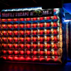 The Mobile Escape Room tent