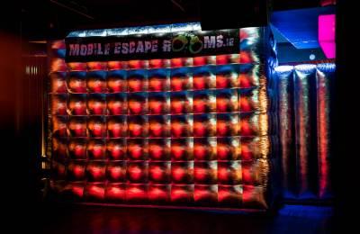 The Mobile Escape Room tent
