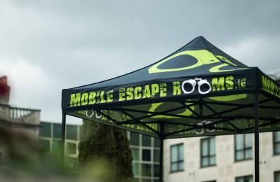 The Mobile Escape Room gazebo
