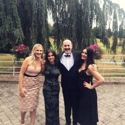 Eve, Rachel, Mark and Eimear at the 10th Annual Event Industry Awards