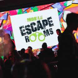 The Mobile Escape Rooms featured at the 10th annual Event Industry Awards