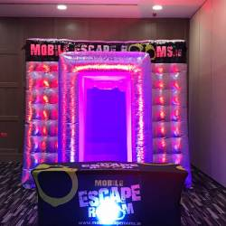 The Creative Events Mobile Escape Room tent