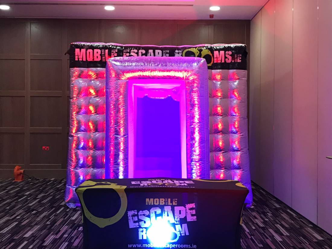 Mobile Escape Room inflatable